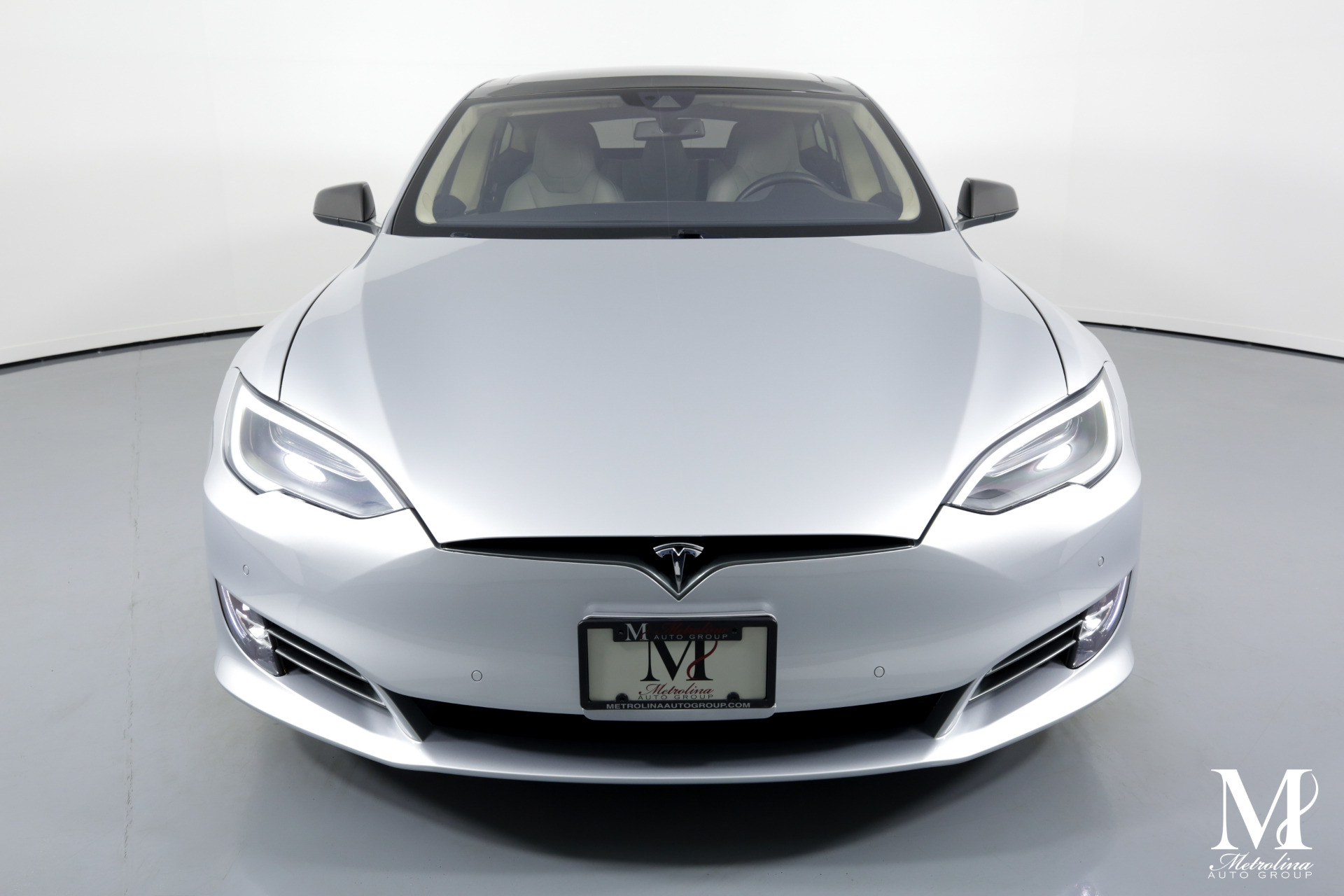 Used 2016 Tesla Model S P90D AWD 4dr Liftback (midyear release) for sale $71,456 at Metrolina Auto Group in Charlotte NC 28217 - 3