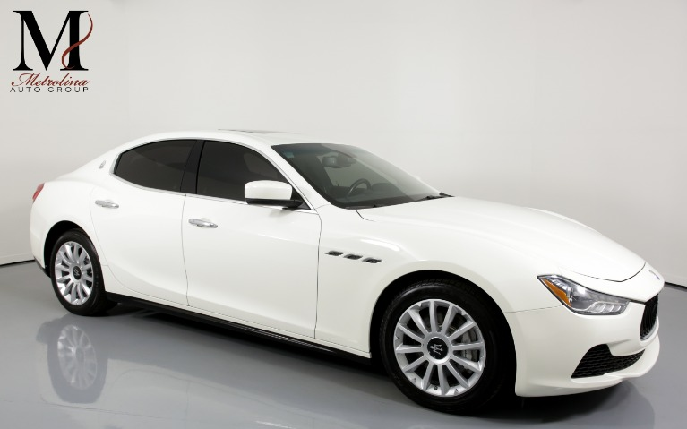 Used Used 2014 Maserati Ghibli Base 4dr Sedan for sale $24,996 at Metrolina Auto Group in Charlotte NC