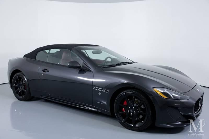 Used 2015 Maserati GranTurismo Sport 2dr Convertible for sale Sold at Metrolina Auto Group in Charlotte NC 28217 - 2