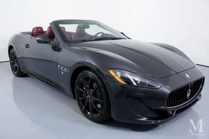 Used 2015 Maserati GranTurismo Sport 2dr Convertible for sale Sold at Metrolina Auto Group in Charlotte NC 28217 - 3