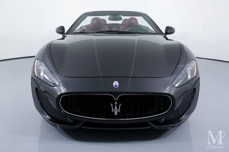 Used 2015 Maserati GranTurismo Sport 2dr Convertible for sale Sold at Metrolina Auto Group in Charlotte NC 28217 - 4