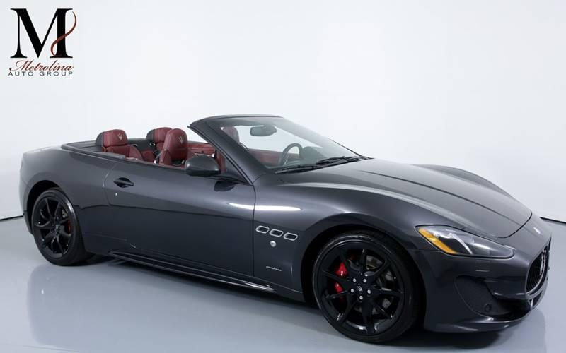 Used 2015 Maserati GranTurismo Sport 2dr Convertible for sale Sold at Metrolina Auto Group in Charlotte NC 28217 - 1
