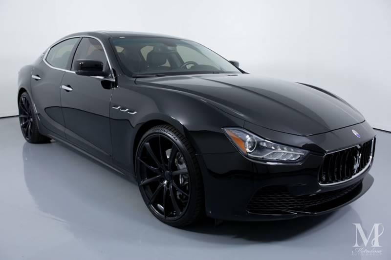 Used 2015 Maserati Ghibli Base 4dr Sedan for sale Sold at Metrolina Auto Group in Charlotte NC 28217 - 2