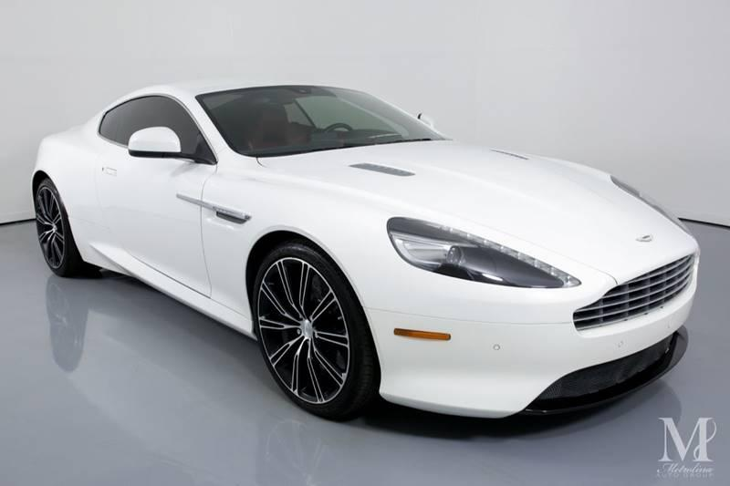 Used 2015 Aston Martin DB9 Base 2dr Coupe for sale Sold at Metrolina Auto Group in Charlotte NC 28217 - 2