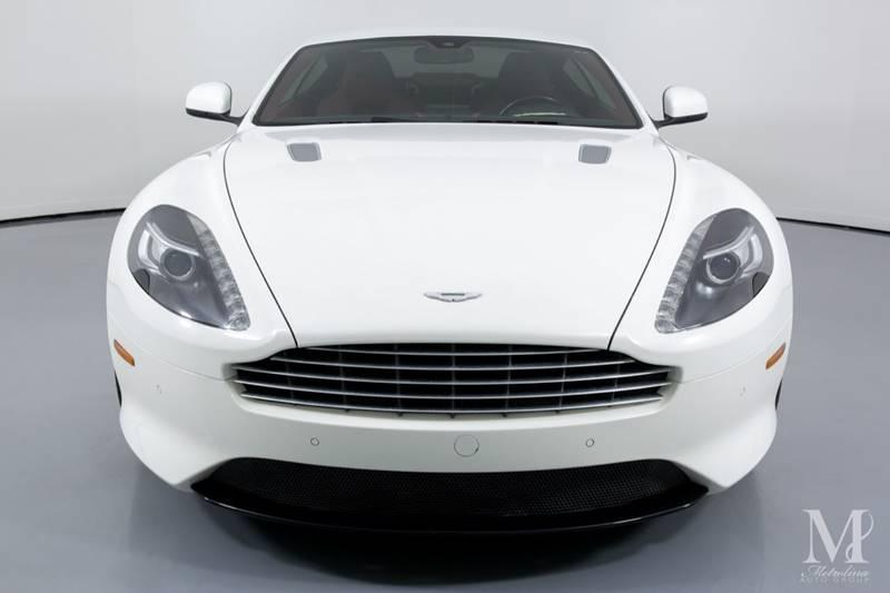Used 2015 Aston Martin DB9 Base 2dr Coupe for sale Sold at Metrolina Auto Group in Charlotte NC 28217 - 3