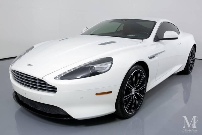 Used 2015 Aston Martin DB9 Base 2dr Coupe for sale Sold at Metrolina Auto Group in Charlotte NC 28217 - 4