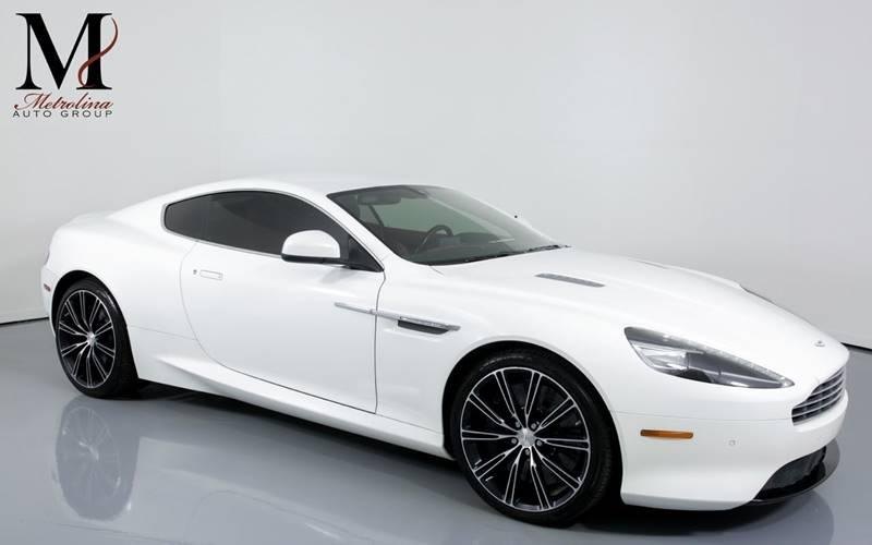 Used 2015 Aston Martin DB9 Base 2dr Coupe for sale Sold at Metrolina Auto Group in Charlotte NC 28217 - 1