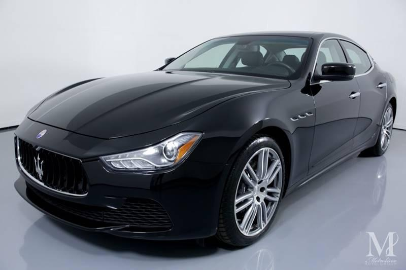 Used 2015 Maserati Ghibli S Q4 AWD 4dr Sedan for sale Sold at Metrolina Auto Group in Charlotte NC 28217 - 4