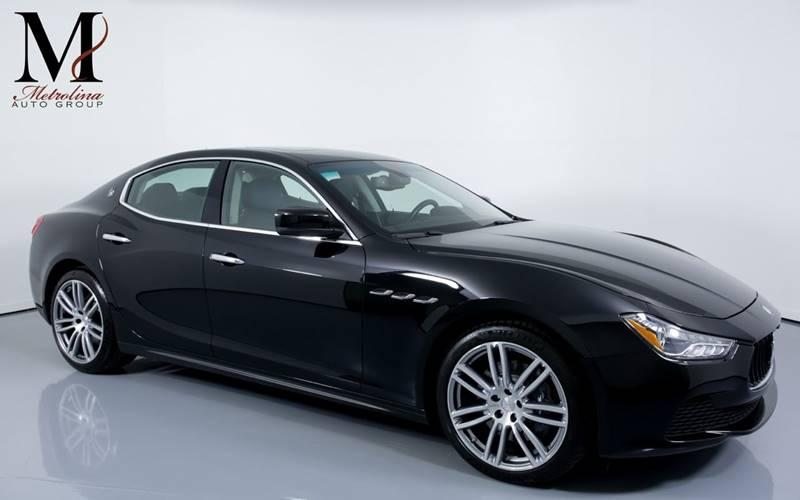 Used 2015 Maserati Ghibli S Q4 AWD 4dr Sedan for sale Sold at Metrolina Auto Group in Charlotte NC 28217 - 1