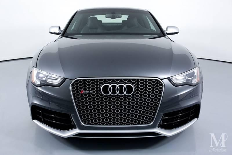 Used 2015 Audi RS 5 4.2 quattro AWD 2dr Coupe for sale Sold at Metrolina Auto Group in Charlotte NC 28217 - 3