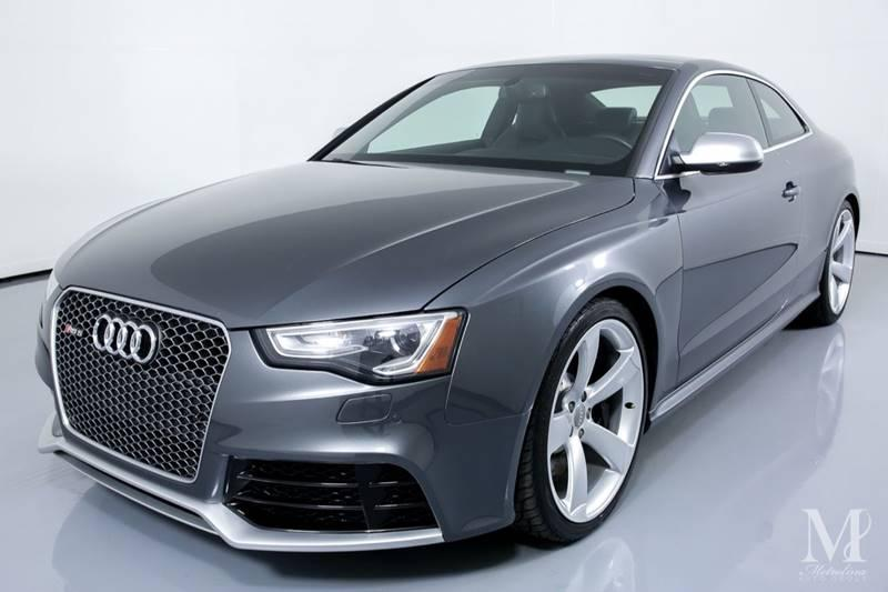 Used 2015 Audi RS 5 4.2 quattro AWD 2dr Coupe for sale Sold at Metrolina Auto Group in Charlotte NC 28217 - 4
