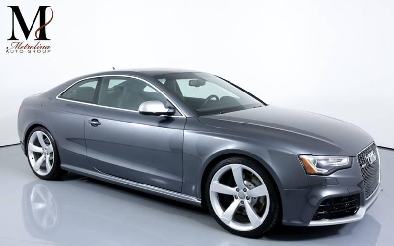 Used 2015 Audi RS 5 4.2 quattro AWD 2dr Coupe for sale Sold at Metrolina Auto Group in Charlotte NC 28217 - 1