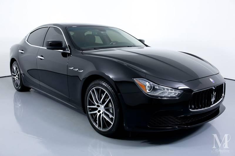 Used 2016 Maserati Ghibli Base 4dr Sedan for sale Sold at Metrolina Auto Group in Charlotte NC 28217 - 2