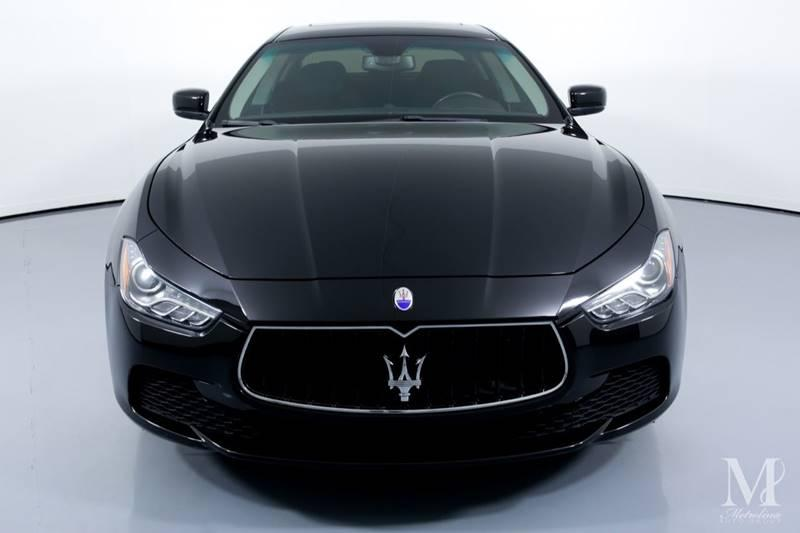 Used 2016 Maserati Ghibli Base 4dr Sedan for sale Sold at Metrolina Auto Group in Charlotte NC 28217 - 3