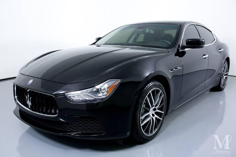 Used 2016 Maserati Ghibli Base 4dr Sedan for sale Sold at Metrolina Auto Group in Charlotte NC 28217 - 4