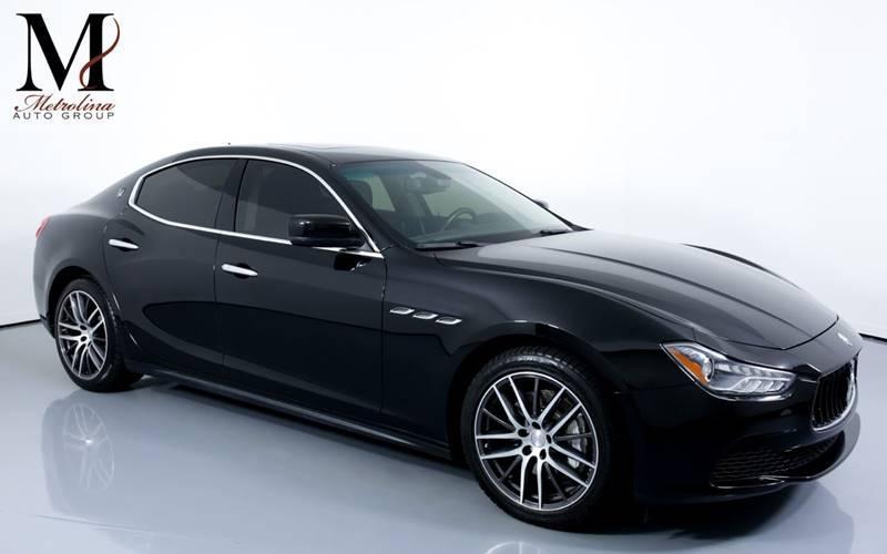 Used 2016 Maserati Ghibli Base 4dr Sedan for sale Sold at Metrolina Auto Group in Charlotte NC 28217 - 1