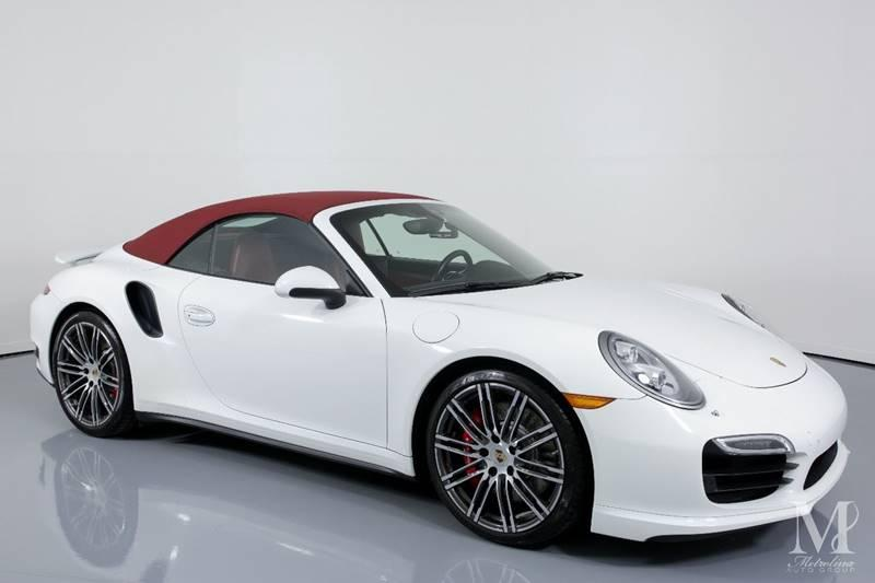 Used 2015 Porsche 911 Turbo AWD 2dr Convertible for sale Sold at Metrolina Auto Group in Charlotte NC 28217 - 2