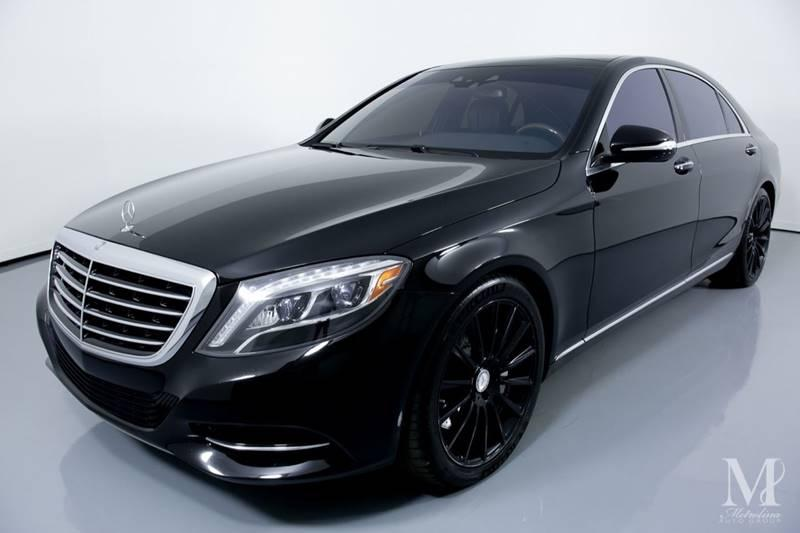 Used 2017 Mercedes-Benz S-Class S 550 4dr Sedan for sale Sold at Metrolina Auto Group in Charlotte NC 28217 - 4