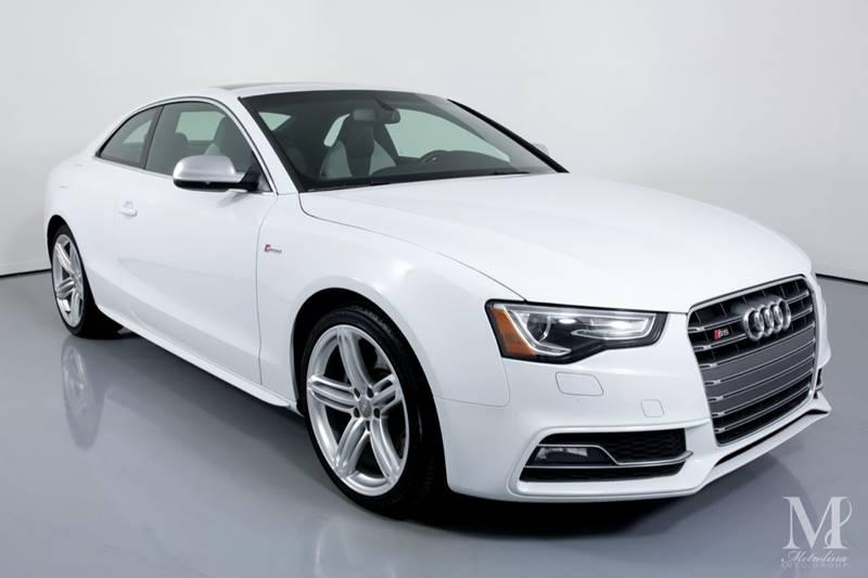 Used 2013 Audi S5 3.0T quattro Premium Plus AWD 2dr Coupe 7A for sale Sold at Metrolina Auto Group in Charlotte NC 28217 - 2