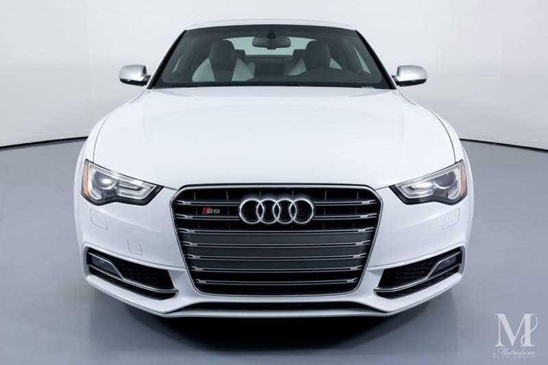 Used 2013 Audi S5 3.0T quattro Premium Plus AWD 2dr Coupe 7A for sale Sold at Metrolina Auto Group in Charlotte NC 28217 - 3