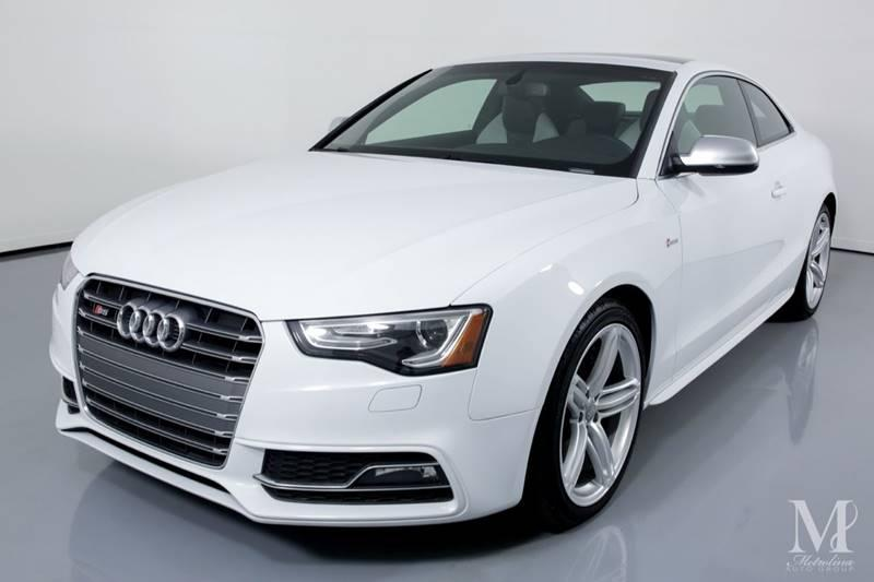 Used 2013 Audi S5 3.0T quattro Premium Plus AWD 2dr Coupe 7A for sale Sold at Metrolina Auto Group in Charlotte NC 28217 - 4