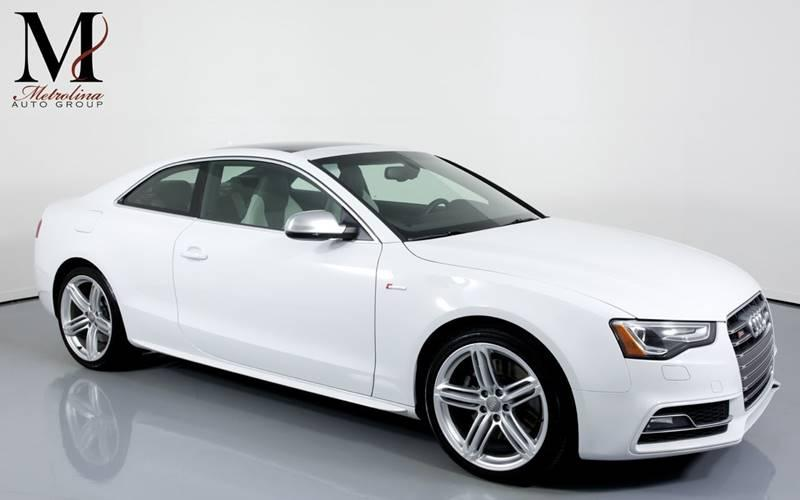 Used 2013 Audi S5 3.0T quattro Premium Plus AWD 2dr Coupe 7A for sale Sold at Metrolina Auto Group in Charlotte NC 28217 - 1