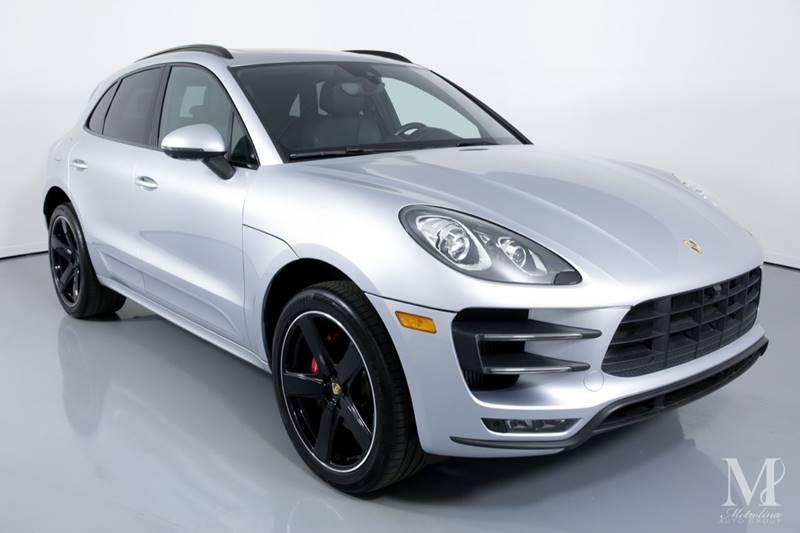 Used 2016 Porsche Macan Turbo AWD 4dr SUV for sale Sold at Metrolina Auto Group in Charlotte NC 28217 - 2