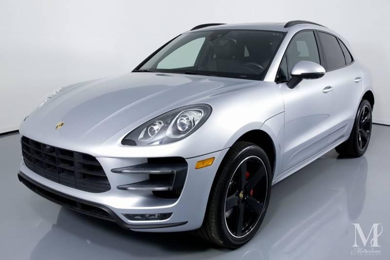 Used 2016 Porsche Macan Turbo AWD 4dr SUV for sale Sold at Metrolina Auto Group in Charlotte NC 28217 - 4