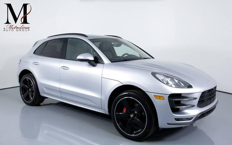 Used 2016 Porsche Macan Turbo AWD 4dr SUV for sale Sold at Metrolina Auto Group in Charlotte NC 28217 - 1