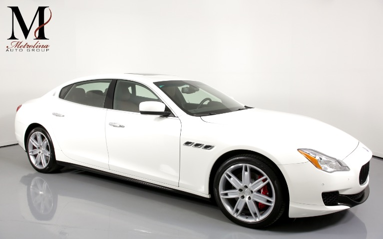 Used Used 2015 Maserati Quattroporte S Q4 AWD 4dr Sedan for sale Call for price at Metrolina Auto Group in Charlotte NC