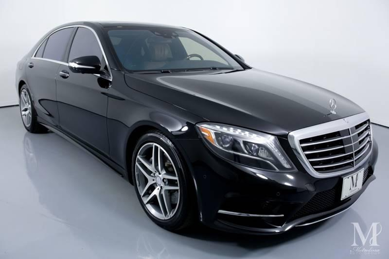 Used 2015 Mercedes-Benz S-Class S 550 4MATIC AWD 4dr Sedan for sale Sold at Metrolina Auto Group in Charlotte NC 28217 - 2