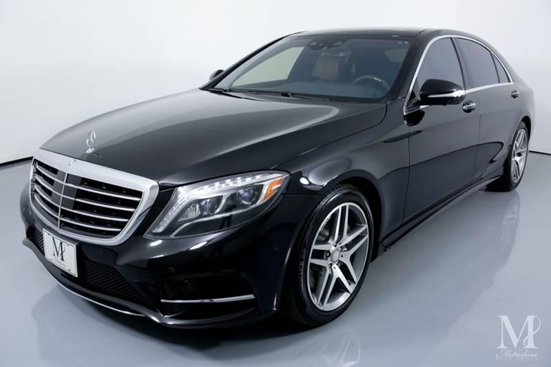 Used 2015 Mercedes-Benz S-Class S 550 4MATIC AWD 4dr Sedan for sale Sold at Metrolina Auto Group in Charlotte NC 28217 - 4