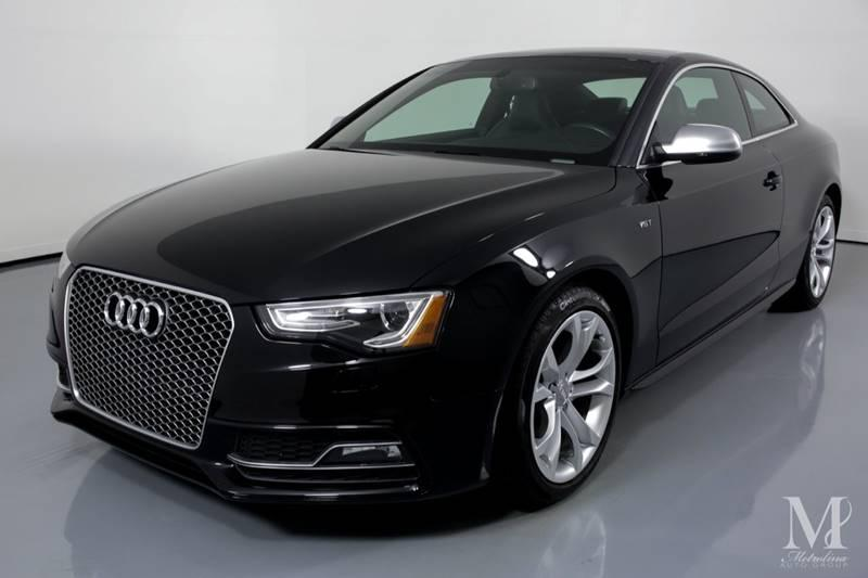 Used 2016 Audi S5 3.0T quattro Premium Plus AWD 2dr Coupe 7A for sale Sold at Metrolina Auto Group in Charlotte NC 28217 - 4