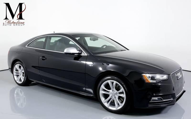 Used 2016 Audi S5 3.0T quattro Premium Plus AWD 2dr Coupe 7A for sale Sold at Metrolina Auto Group in Charlotte NC 28217 - 1
