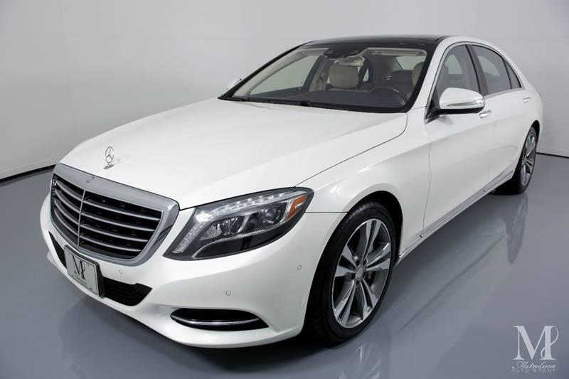Used 2016 Mercedes-Benz S-Class S 550 4dr Sedan for sale Sold at Metrolina Auto Group in Charlotte NC 28217 - 4