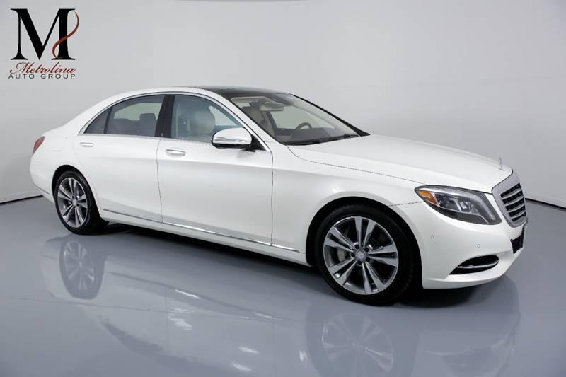 Used 2016 Mercedes-Benz S-Class S 550 4dr Sedan for sale Sold at Metrolina Auto Group in Charlotte NC 28217 - 1