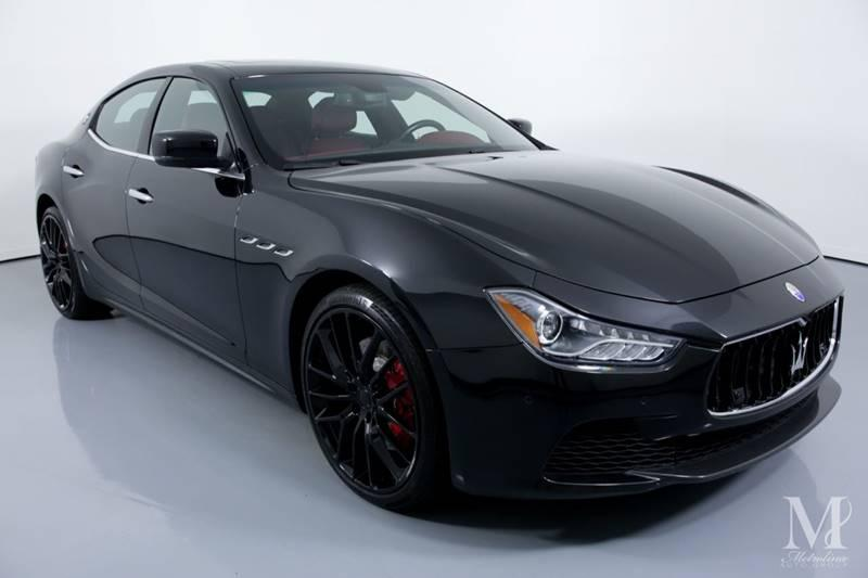 Used 2016 Maserati Ghibli S 4dr Sedan for sale Sold at Metrolina Auto Group in Charlotte NC 28217 - 2