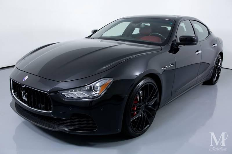 Used 2016 Maserati Ghibli S 4dr Sedan for sale Sold at Metrolina Auto Group in Charlotte NC 28217 - 4