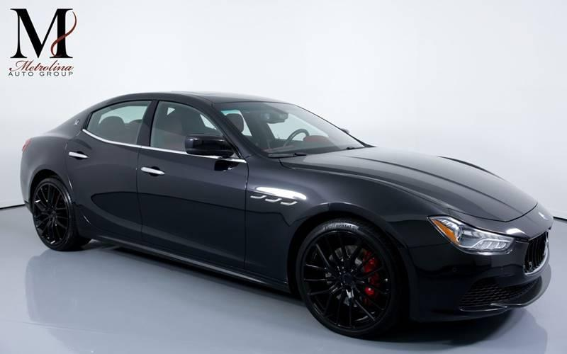 Used 2016 Maserati Ghibli S 4dr Sedan for sale Sold at Metrolina Auto Group in Charlotte NC 28217 - 1