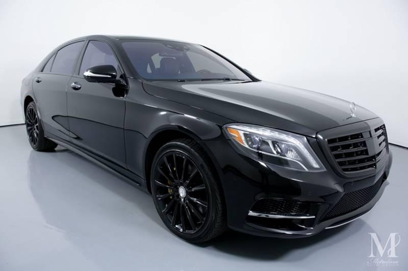 Used 2016 Mercedes-Benz S-Class S 550 4dr Sedan for sale Sold at Metrolina Auto Group in Charlotte NC 28217 - 2