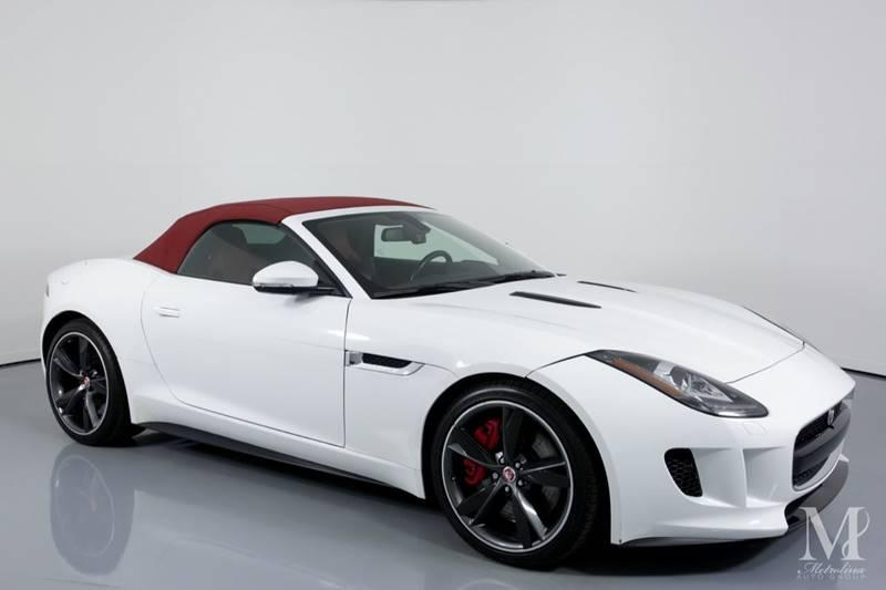 Used 2015 Jaguar F-TYPE V8 S 2dr Convertible for sale Sold at Metrolina Auto Group in Charlotte NC 28217 - 2