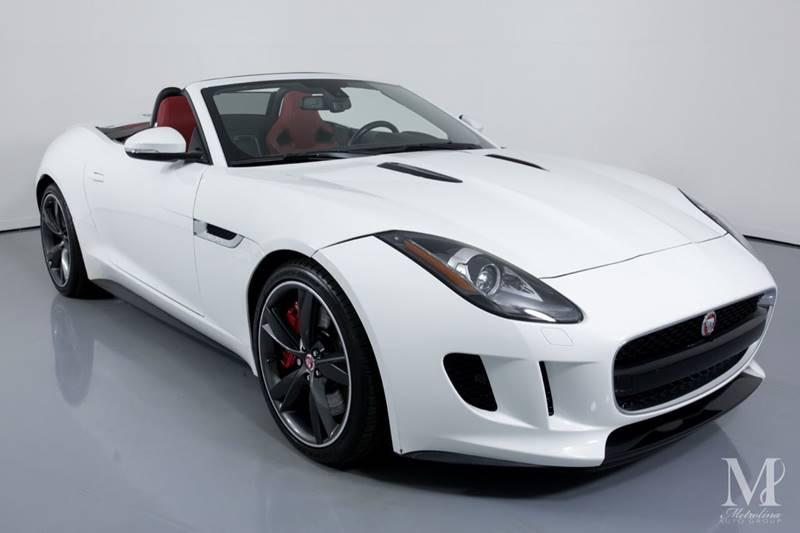 Used 2015 Jaguar F-TYPE V8 S 2dr Convertible for sale Sold at Metrolina Auto Group in Charlotte NC 28217 - 3
