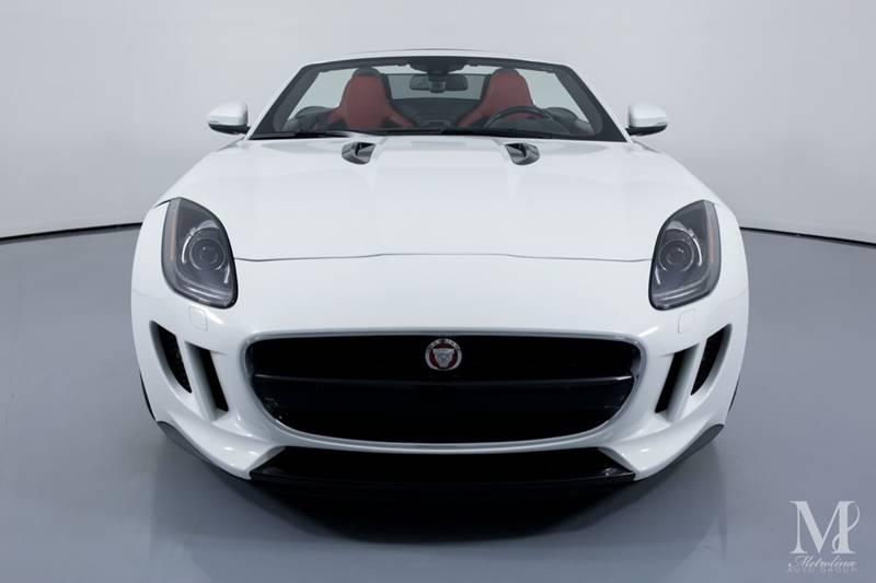 Used 2015 Jaguar F-TYPE V8 S 2dr Convertible for sale Sold at Metrolina Auto Group in Charlotte NC 28217 - 4