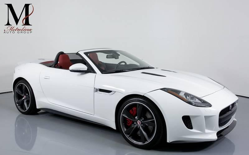 Used 2015 Jaguar F-TYPE V8 S 2dr Convertible for sale Sold at Metrolina Auto Group in Charlotte NC 28217 - 1
