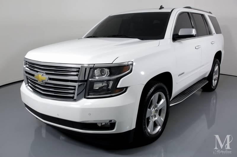 Used 2015 Chevrolet Tahoe LTZ 4x2 4dr SUV for sale Sold at Metrolina Auto Group in Charlotte NC 28217 - 4