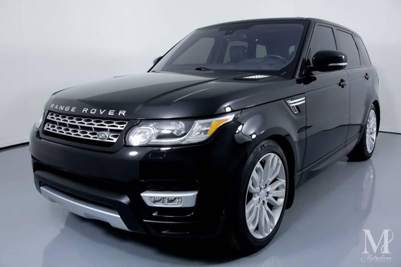 Used 2016 Land Rover Range Rover Sport HSE Td6 AWD 4dr SUV for sale Sold at Metrolina Auto Group in Charlotte NC 28217 - 4