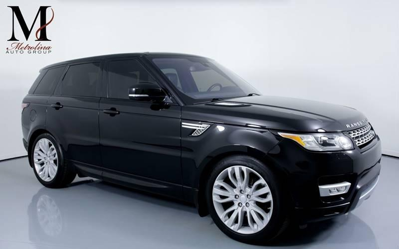 Used 2016 Land Rover Range Rover Sport HSE Td6 AWD 4dr SUV for sale Sold at Metrolina Auto Group in Charlotte NC 28217 - 1