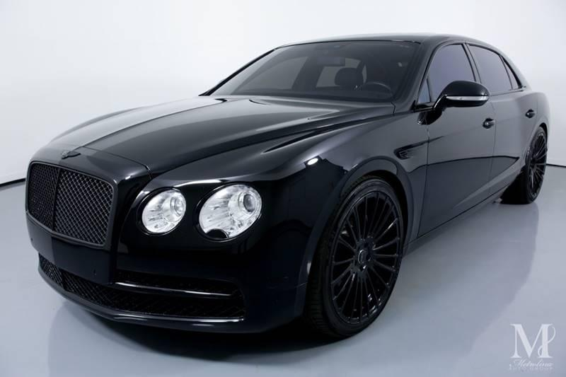 Used 2014 Bentley Flying Spur Base AWD 4dr Sedan for sale Sold at Metrolina Auto Group in Charlotte NC 28217 - 4