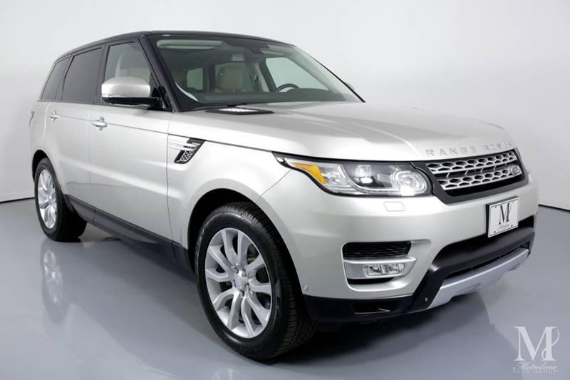 Used 2015 Land Rover Range Rover Sport HSE 4x4 4dr SUV for sale Sold at Metrolina Auto Group in Charlotte NC 28217 - 2