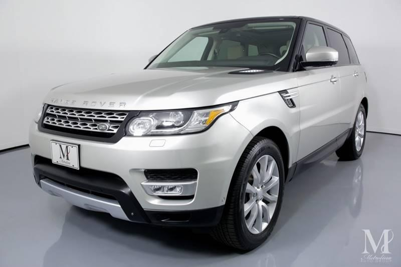 Used 2015 Land Rover Range Rover Sport HSE 4x4 4dr SUV for sale Sold at Metrolina Auto Group in Charlotte NC 28217 - 4